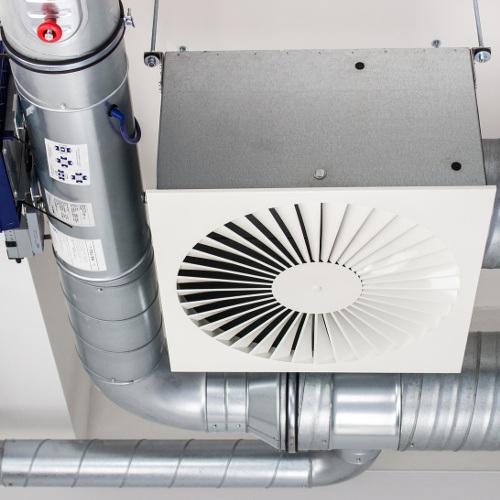 System wentylacji mechanicznej
